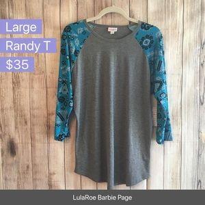 Large NWT Randy T Lularoe